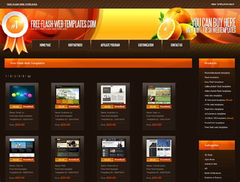 template site free 30 that offer free website templates and free flash
