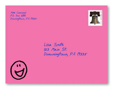 greeting card envelope template mailing gary halbert newsletters a powerful direct mail exle