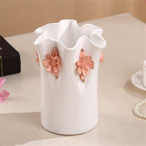 white ceramic home decor popular large white floor vase buy cheap large white floor