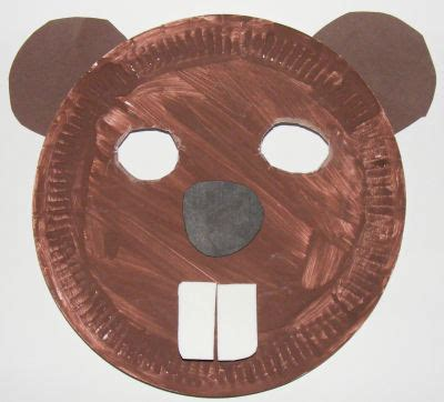 beaver crafts for kids ideas to make beavers with easy beaver mask craft for children