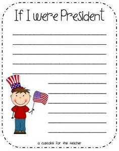 if i were president first grade pinterest