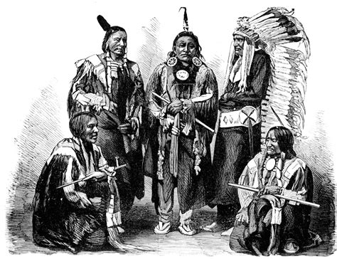 a of sioux a american tribe clipart etc