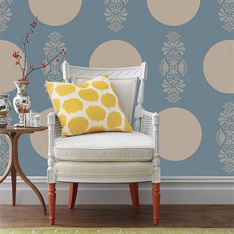polka dot home decor popsugar home