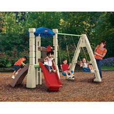 little tikes lookout swing set outdoor play little tikes and playgrounds on pinterest