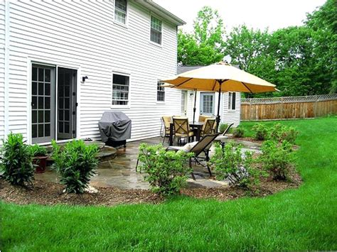 backyard landscaping ideas pictures free patio landscaping desert patio landscaped with mesquite tree sage bush firecracker