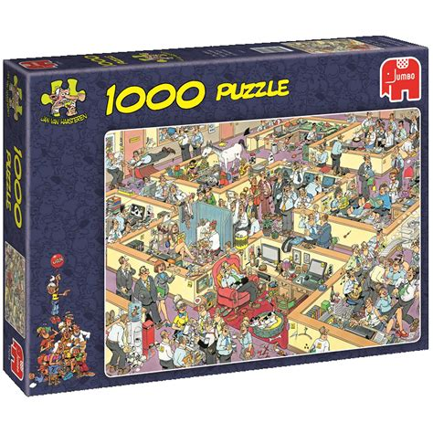 1000 Jigsaw Puzzles Jigsaw jigsaw puzzle 1000 pieces jan haasteren the office jumbo 17014 1000 pieces jigsaw