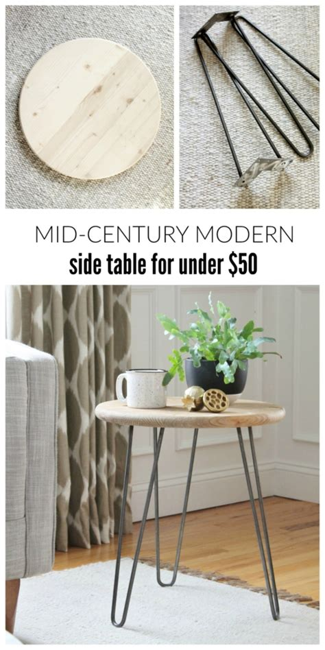 side tables under 50 mid century modern table for under 50