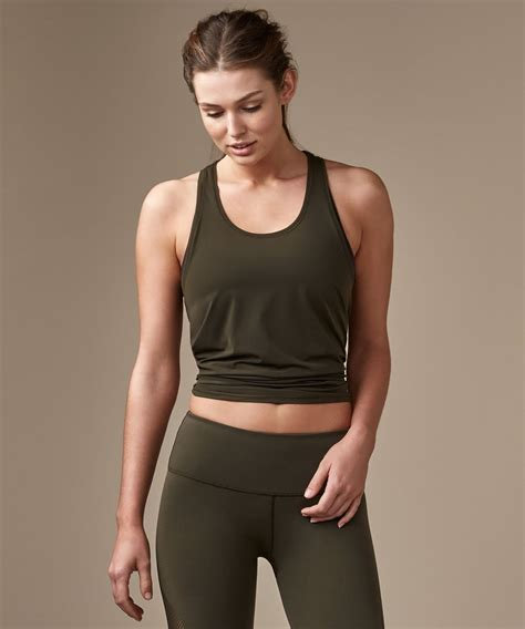 Two With Olive lululemon two with one singlet olive lulu fanatics