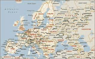 Detailed Map Of Europe by Detailed Map Of Europe Grey