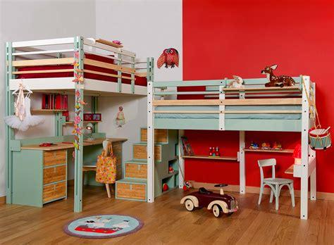 lit mezzanine enfant enfants espace loggia