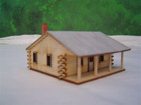 Model Log Cabin by Woodwork Wood Cabin Kits Pdf Plans