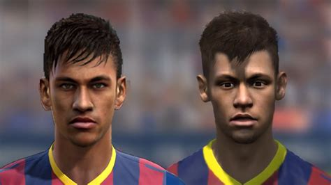 fifa 14 all hairstyles fifa 14 v pes 14 faces head to head hd part 1 youtube