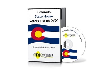 colorado state house of representatives voter file colorado registered voters lists by state house of representatives