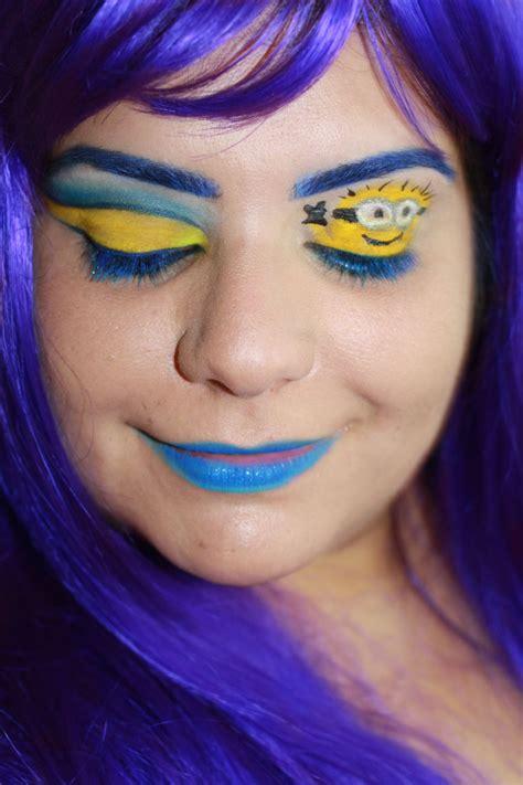 Eyeliner Me despicable me 2 makeup look