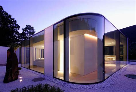 how to design a house like an architect futuristic glass architecture in switzerland