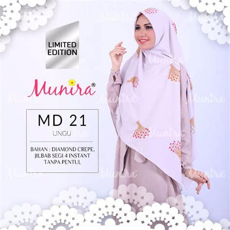 Khimar Syar I Basic Wollycrepe Munira Mb07 koleksi jilbab munira edisi lebaran 2017