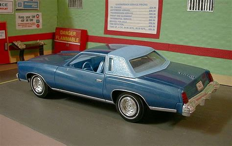 Modele Monte Carlo 1977 monte carlo model model plastic cars