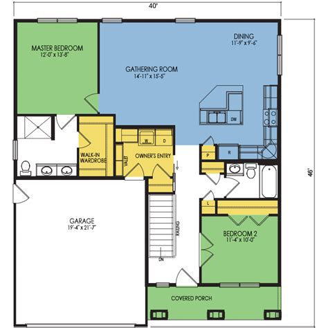 crestone floor plan 2 beds 2 baths 1285 sq ft wausau