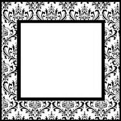 Christmas labels from peekaboo studios black damask labels from nine