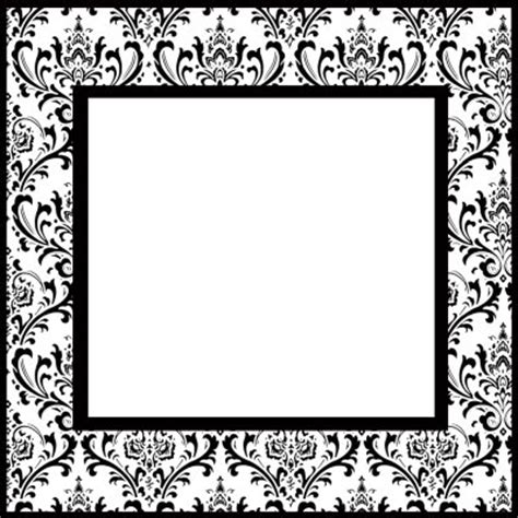 6 best images of printable damask borders for invitations damask picture borders free download joy studio design
