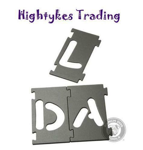 router lettering template sets router letter template ebay
