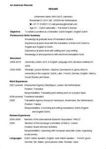 format resume template microsoft word resume template 99 free sles