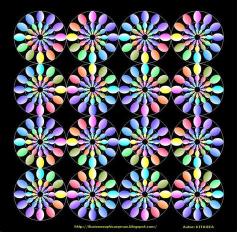 ilusiones opticas fisiologicas ilusion optica kitaoka ilusiones opticas