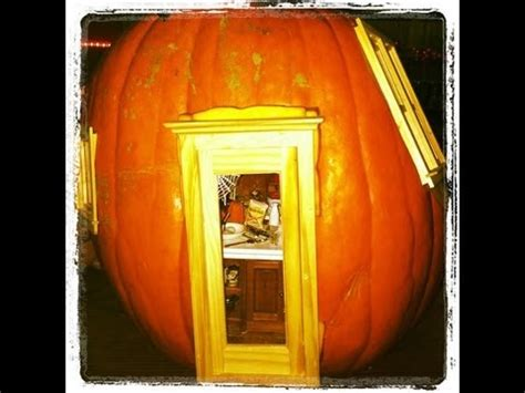 inside of a doll house halloween dollhouse inside a real pumpkin youtube
