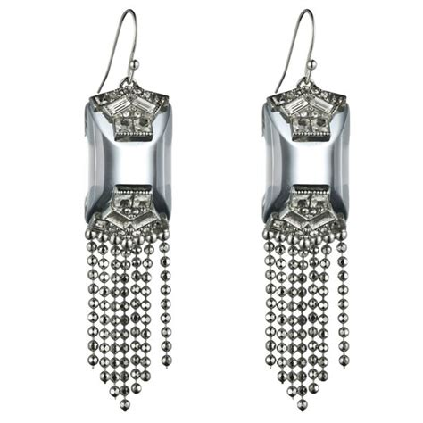 Earrings Dots Swarovski Silver Rhodium 1000 images about bittar on taupe