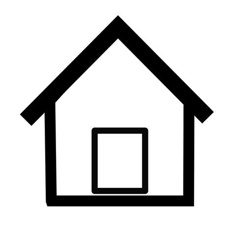 clipart simple home netalloy