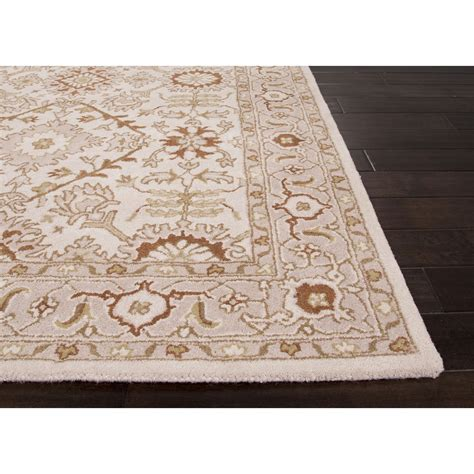 Cost To Ship A Rug by Jaipur Rugs Classic Pattern Ivory Wool Area