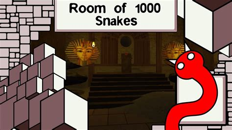 room of 1000 snakes let s play room of 1000 snakes