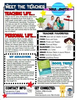 Star Wars Themed Meet The Teacher Letter By Teaching With Pink Tpt Meet The Newsletter Templates