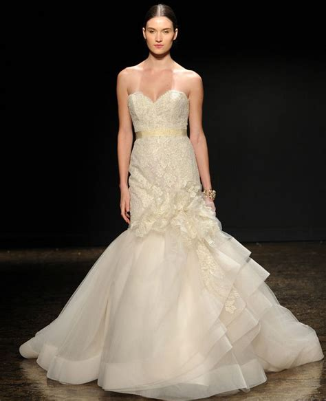 lazaro wedding dresses 2014 lazaro fall 2014 wedding dresses