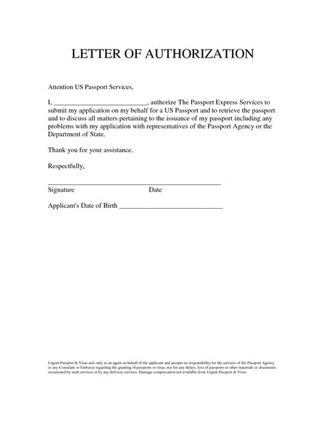 authorization letter behalf best photos of signature authorization letter sle