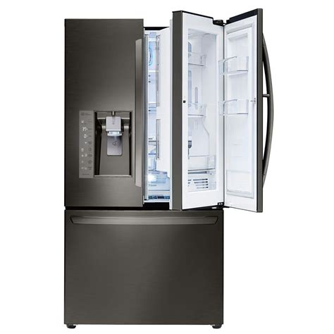 lg electronics 30 cu ft door refrigerator with - 30 In Door Refrigerator