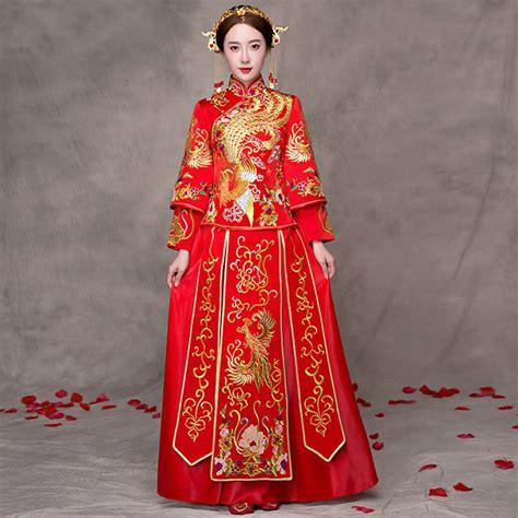 hochzeitskleid china online get cheap traditional chinese wedding gowns