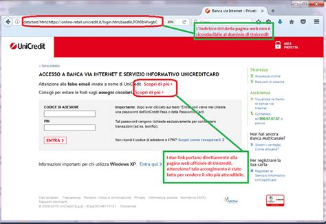 unicredit sito news malware hoax tg soft software house