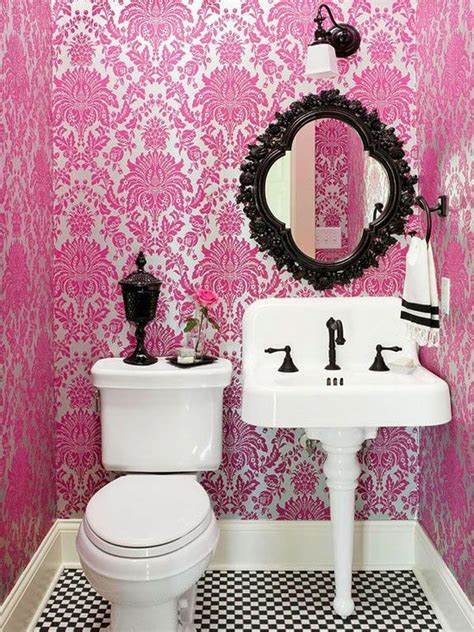 pink and black bathroom accessories 30 bathroom color schemes you never knew you wanted