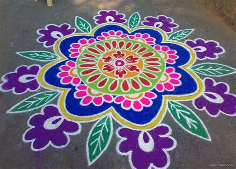 pattern art competition pongal rangoli 16