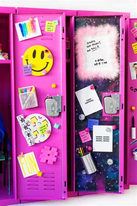 diy locker decor ideas diy locker lockers  erase board