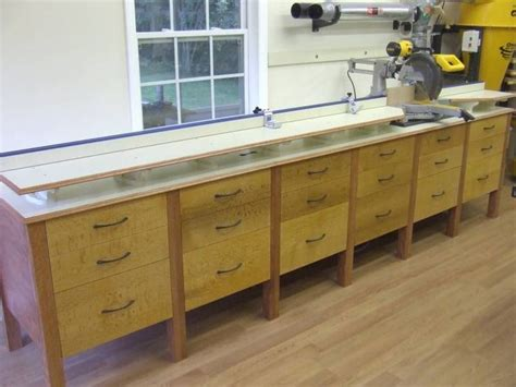 chop saw table height miter saw station woodworking plan woodwork plans