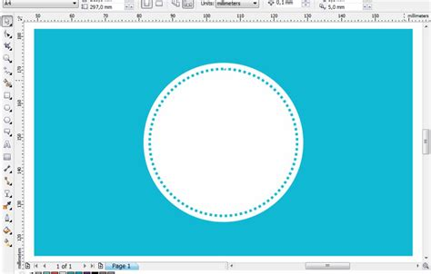 membuat background quote  coreldraw belajar