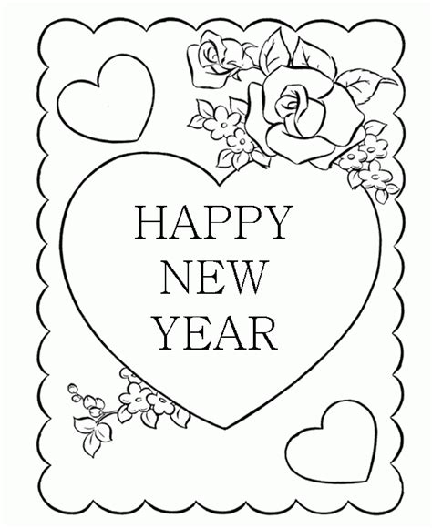 new year greeting cards free printable greeting cards new year coloring pages new year greeting cards with