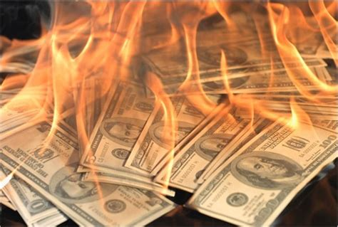 new year money burning here s proof us govt s burning money record high