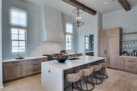 Stained Oak French Kitchen Hood Design Ideas Page 1 | stained oak french kitchen hood design ideas page 1