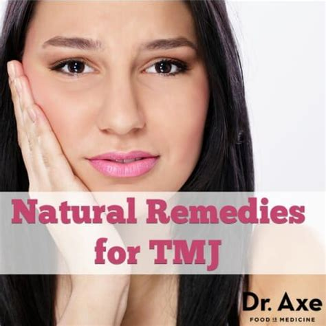 tmj treatment home remedies that work draxe