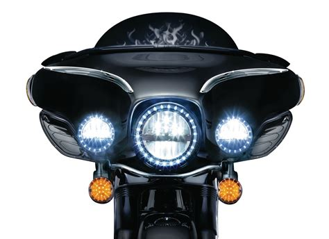 harley davidson passing lights phase 7 l e d passing ls headlights driving lights