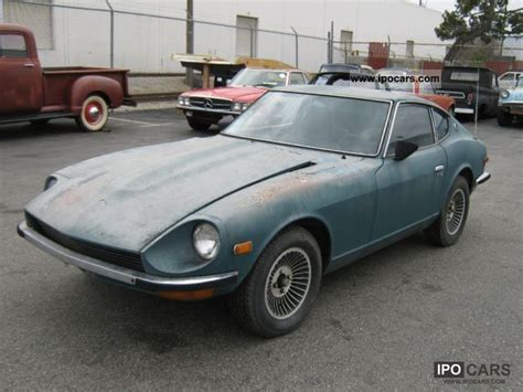 old nissan 240 1971 nissan z 240 car photo and specs