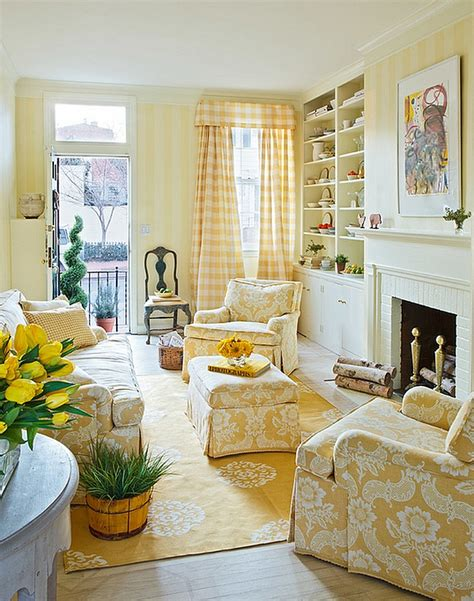 house beautiful cottage living magazine 20 yellow living room ideas trendy modern inspirations